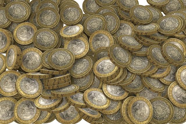 dvoubarevné mince