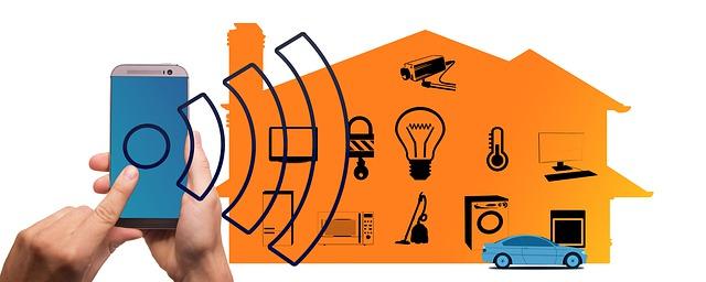 ovládání inteligentní domácnosti