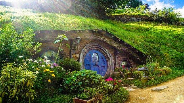 dům pod zemí